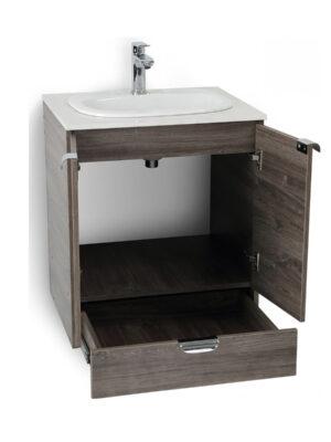 mueble cascade con lavamanos corona