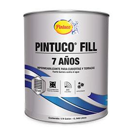 Impermeabilizante acrílico Pintuco Fill 7